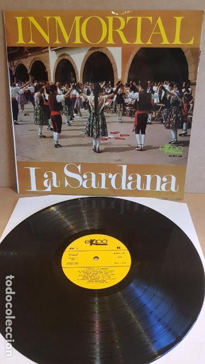 COBLA BARCELONA / INMORTAL - LA SARDANA / LP - EKIPO-1967 / CALIDAD LUJO. ****/**** (Música - Discos - LP Vinilo - Country y Folk)
