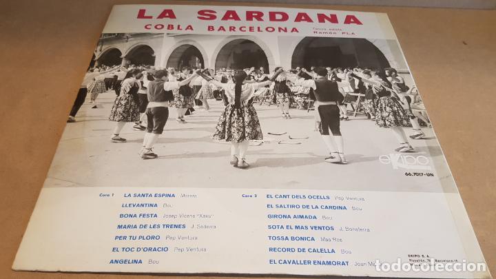 Discos de vinilo: COBLA BARCELONA / INMORTAL - LA SARDANA / LP - EKIPO-1967 / CALIDAD LUJO. ****/**** - Foto 2 - 159780834