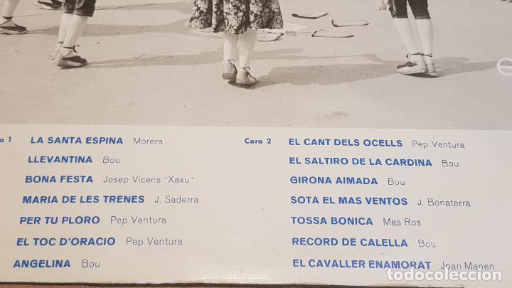 Discos de vinilo: COBLA BARCELONA / INMORTAL - LA SARDANA / LP - EKIPO-1967 / CALIDAD LUJO. ****/**** - Foto 3 - 159780834