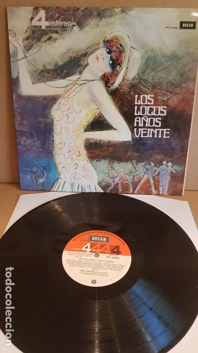 ERIC ROGERS Y SU ORQUESTA / LOS LOCOS AÑOS VEINTE / LP - DECCA-1963 / CALIDAD LUJO. ****/**** (Música - Discos - LP Vinilo - Orquestas)
