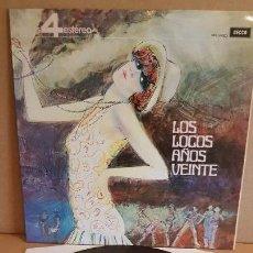 Discos de vinilo: ERIC ROGERS Y SU ORQUESTA / LOS LOCOS AÑOS VEINTE / LP - DECCA-1963 / CALIDAD LUJO. ****/****. Lote 159783842