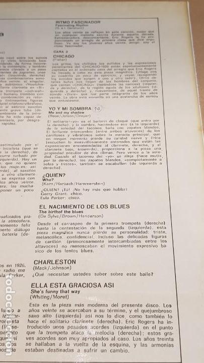 Discos de vinilo: ERIC ROGERS Y SU ORQUESTA / LOS LOCOS AÑOS VEINTE / LP - DECCA-1963 / CALIDAD LUJO. ****/**** - Foto 4 - 159783842