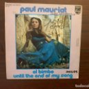 Discos de vinilo: PAUL MAURIAT ‎– EL BIMBO / UNTIL THE END OF MY SONG SELLO: PHILIPS ‎– 6009 571 - GT 01 . Lote 159788910