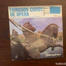 Discos de vinilo: ORQUESTA DEL TEATRO NACIONAL DE PRAGA Y COROS DEL TEATRO NACIONAL DE PRAGA* ?– FAMOSOS COROS . Lote 159789474