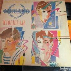 Discos de vinilo: MECANO (MAQUILLAJE) MAXI SINGLE LP ESPAÑA 1982 (VIN-B0). Lote 159790390