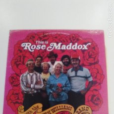 Discos de vinilo: THIS IS ROSE MADDOX WITH THE VERN WILLIAMS BAND ( 1981 ARHOOLIE USA ) . Lote 159793730