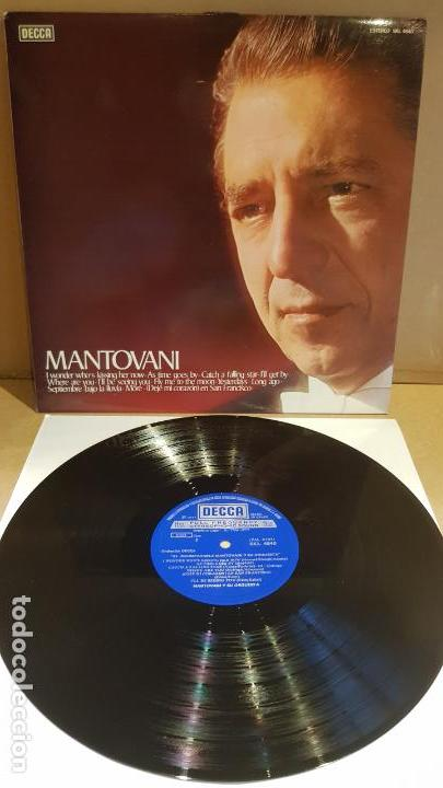 MANTOVANI / EL INCOMPARABLE MANTOVANI / LP - DECCA-1977 / CALIDAD LUJO. ****/**** (Música - Discos - LP Vinilo - Orquestas)