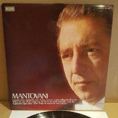 Discos de vinilo: MANTOVANI / EL INCOMPARABLE MANTOVANI / LP - DECCA-1977 / CALIDAD LUJO. ****/****. Lote 159795798