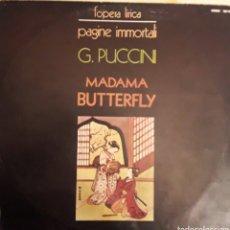 Discos de vinilo: MADAMA BUTTERFLY. Lote 159800080