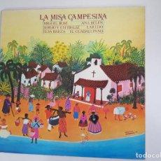 Discos de vinilo: VARIOS - LA MISA CAMPESINA (VINILO). Lote 159811114