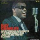 Discos de vinilo: RAY CHARLES / NOS EMBORRACHAMOS + 3 (EP 1966). Lote 159820526