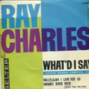 Discos de vinilo: RAY CHARLES / WHAT'D I SAY + 2 (EP 1963). Lote 159820570