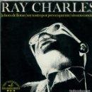 Discos de vinilo: RAY CHARLES / LA HORA DE LLORAR + 3 (EP 1966). Lote 159820626