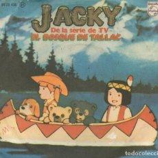 Discos de vinilo: X- SINGLE 1978 - JACKY DE LA SERIE TV EL BOSQUE DE TALLAC. Lote 159823570
