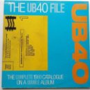 Discos de vinilo: UB40-THE UB40 FILE (2 X LP. VIRGIN.1985) REGGAE POST PUNK.COVERS: BILLIE HOLIDAY,VAN MORRISON.... Lote 159830662