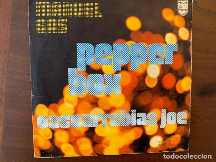 MANUEL GAS ?– PEPPER BOX SELLO: PHILIPS ?– 60 29 214 FORMATO: VINYL, 7 , SINGLE PAÍS: SPAIN (Música - Discos - Singles Vinilo - Funk, Soul y Black Music)