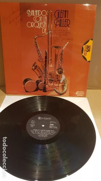 BAILANDO CON LA ORQUESTA DE GLENN MILLER / LP - WESTMINSTER-1976 / CALIDAD LUJO. ****/**** (Música - Discos - LP Vinilo - Orquestas)