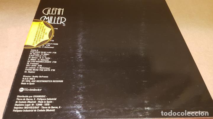 Discos de vinilo: BAILANDO CON LA ORQUESTA DE GLENN MILLER / LP - WESTMINSTER-1976 / CALIDAD LUJO. ****/**** - Foto 2 - 159839774