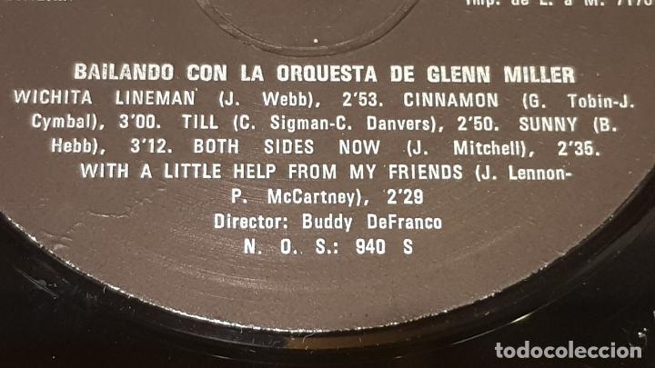 Discos de vinilo: BAILANDO CON LA ORQUESTA DE GLENN MILLER / LP - WESTMINSTER-1976 / CALIDAD LUJO. ****/**** - Foto 4 - 159839774