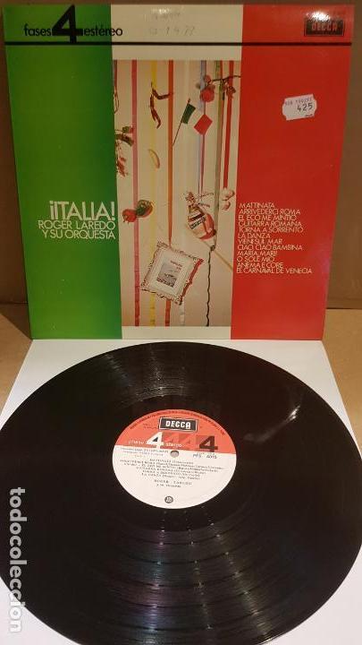 ROGER LAREDO Y SU ORQUESTA / ITALIA / LP - DECCA-1963 / CALIDAD LUJO. ****/**** (Música - Discos - LP Vinilo - Orquestas)