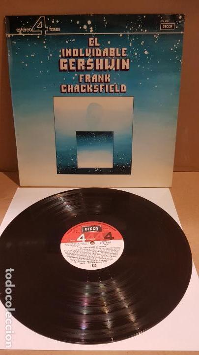 FRANK CHACKSFIELD / EL INOLVIDABLE GERSHWIN / LP - DECCA-1975 / CALIDAD LUJO. ****/**** (Música - Discos - LP Vinilo - Orquestas)