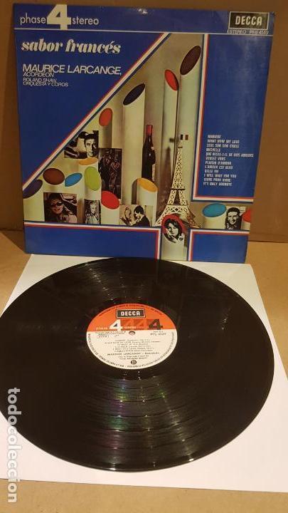MAURICE LARCANGE / ROLAND SHAW / SABOR FRANCÉS / LP - DECCA-1968 / MBC. ***/*** (Música - Discos - LP Vinilo - Orquestas)