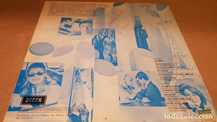 Discos de vinilo: MAURICE LARCANGE / ROLAND SHAW / SABOR FRANCÉS / LP - DECCA-1968 / MBC. ***/*** - Foto 2 - 159842742