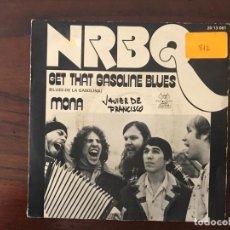 Discos de vinilo: NRBQ ?– GET THAT GASOLINE BLUES / MONA SELLO: KAMA SUTRA ?– 20 13 081 FORMATO: VINYL, 7 , 45 RPM . Lote 159845374