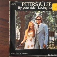 Discos de vinilo: PETERS & LEE ?– BY YOUR SIDE SELLO: PHILIPS ?– 60 06 373 FORMATO: VINYL, 7 45 RPM PAÍS: SPAIN . Lote 159845418