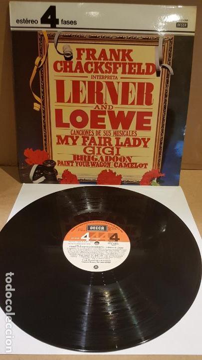 FRANK CHACKSFIELD INTERPRETA LERNER & LOEWE / LP - DECCA-1977 / CALIDAD LUJO. ****/**** (Música - Discos - LP Vinilo - Orquestas)