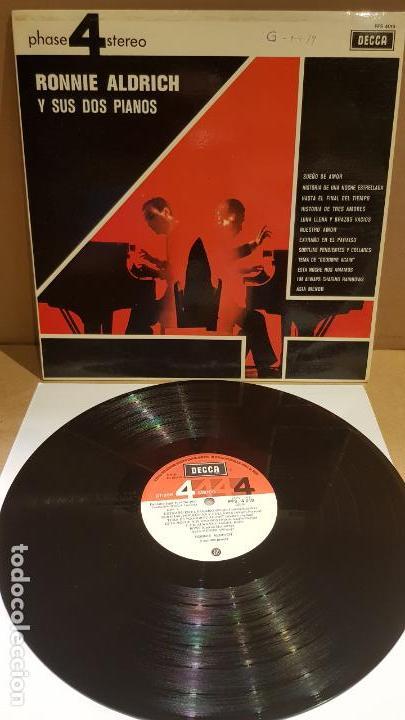 RONNIE ALDRICH Y SUS DOS PIANOS / LP - DECCA-1970 / CALIDAD LUJO. ****/**** (Música - Discos - LP Vinilo - Orquestas)