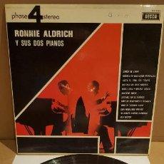 Discos de vinilo: RONNIE ALDRICH Y SUS DOS PIANOS / LP - DECCA-1970 / CALIDAD LUJO. ****/****. Lote 159848866