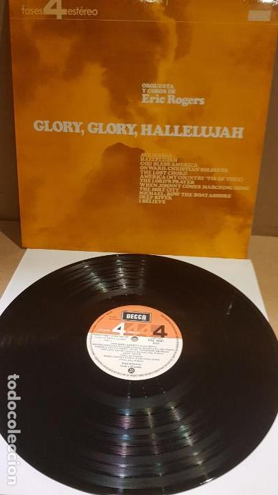ORQUESTA Y COROS DE ERIC ROGERS / GLORY GLORY HALLELUJAH / LP - DECCA-1966 / LUJO. ****/**** (Música - Discos - LP Vinilo - Orquestas)