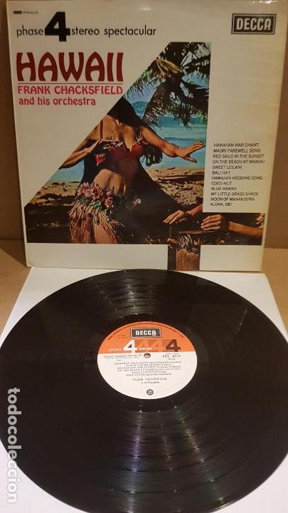 FRANK CHACKSFIELD ANT HIS ORCHESTRA / HAWAII / LP - DECCA-1967 / MBC. ***/*** (Música - Discos - LP Vinilo - Orquestas)