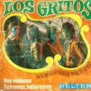 Discos de vinilo: SG LOS GRITOS : VEO VISIONES ( USADO). Lote 159851990