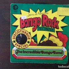 Discos de vinilo: THE INCREDIBLE BONGO BAND ?– BONGO ROCK / BONGOLIA SELLO: MGM RECORDS ?– 20 06 161 FORMATO: VINYL, 7. Lote 159852102