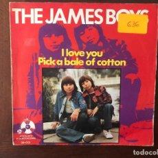 Discos de vinilo: THE JAMES BOYS ?– I LOVE YOU SELLO: PENNY FARTHING ?– 06.073 FORMATO: VINYL, 7 , 45 RPM, SINGLE . Lote 159852298