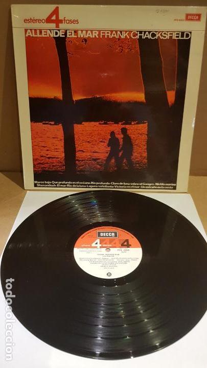 FRANK CHACKSFIELD / ALLENDE EL MAR / LP - DECCA-1965 / CALIDAD LUJO. ****/**** (Música - Discos - LP Vinilo - Orquestas)