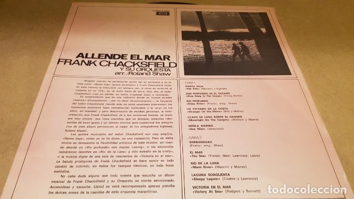 Discos de vinilo: FRANK CHACKSFIELD / ALLENDE EL MAR / LP - DECCA-1965 / CALIDAD LUJO. ****/**** - Foto 2 - 159852314