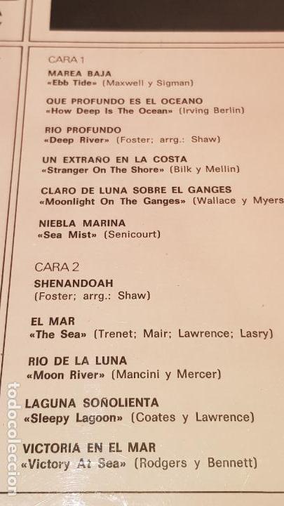 Discos de vinilo: FRANK CHACKSFIELD / ALLENDE EL MAR / LP - DECCA-1965 / CALIDAD LUJO. ****/**** - Foto 3 - 159852314