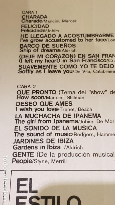 Discos de vinilo: EL ESTILO MÁGICO DE RONNIE ALDRICH / LP - DECCA-1965 / CALIDAD LUJO. ****/**** - Foto 3 - 159852482