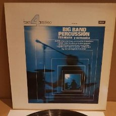 Discos de vinilo: TED HEATH Y SU MÚSICA / BIG BAND PERCUSSION / LP - DECCA-1964 / CALIDAD LUJO. ****/****. Lote 159852650