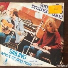 Discos de vinilo: THE SUTHERLAND BROS. BAND* ?– SAILING SELLO: ISLAND RECORDS ?– 12.226-A FORMATO: VINYL, 7 , 45 RPM . Lote 159852882