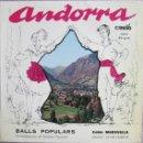 Discos de vinilo: COBLA MARAVELLA: ANDORRA: BALLS POPULARS: BALL DE SANTA ANNA / CONTRAPÀS / BALL PLA / L´AS D´ORO + . Lote 159854450