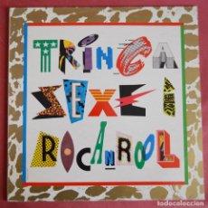 Discos de vinilo: LA TRINCA - SEXE I ROCANROOL - ARIOLA. Lote 159855154