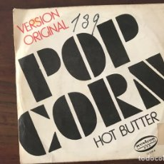 Disques de vinyle: HOT BUTTER ?– POP CORN (VERSION ORIGINALE) SELLO: MUSICOR FORMATO: VINYL, 7 , 45 RPM, SINGLE PAÍS: . Lote 159860514