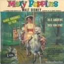 Discos de vinilo: JULIE ANDREWS, DICK VAN DYKE - MARY POPPINS: BANDE ORIGINALE DU FILM - EP FRANCE 1965. Lote 159861906