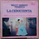 Discos de vinilo: WALT DISNEY PRESENTA EL CUENTO DE LA CENICIENTA - EP DISNEYLAND SPAIN 1967. Lote 159864726