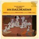 Discos de vinilo: WALT DISNEY PRESENTA EL CUENTO DE 101 DALMATAS - EP DISNEYLAND SPAIN 1967. Lote 159866106