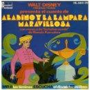 Discos de vinilo: WALT DISNEY PRESENTA EL CUENTO DE ALADINO Y LA LAMPARA MARAVILLOSA - EP DISNEYLAND SPAIN 1976. Lote 159866274